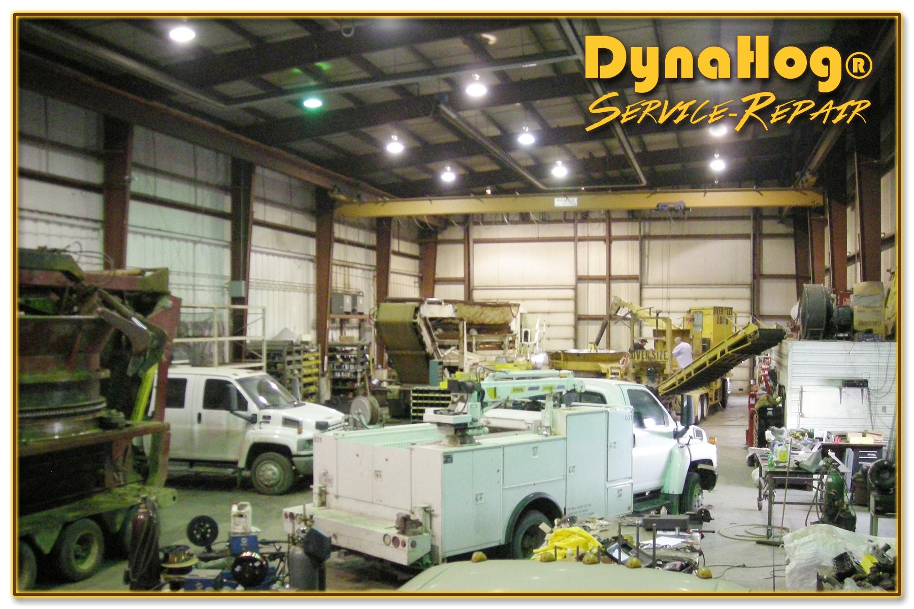 1 DynaHog® Grinder Repair Service