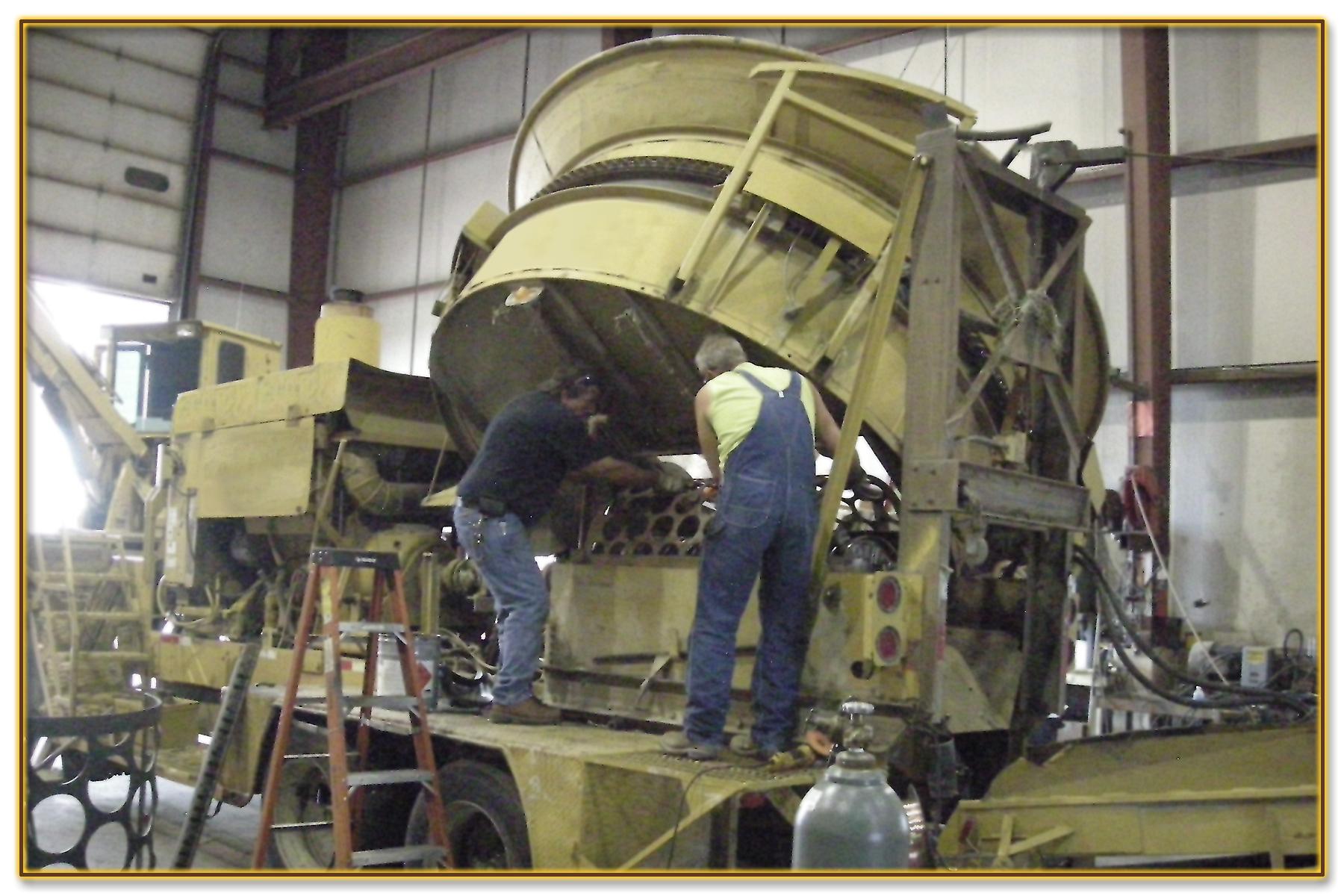 13 DynaHog® Grinder Repair Service