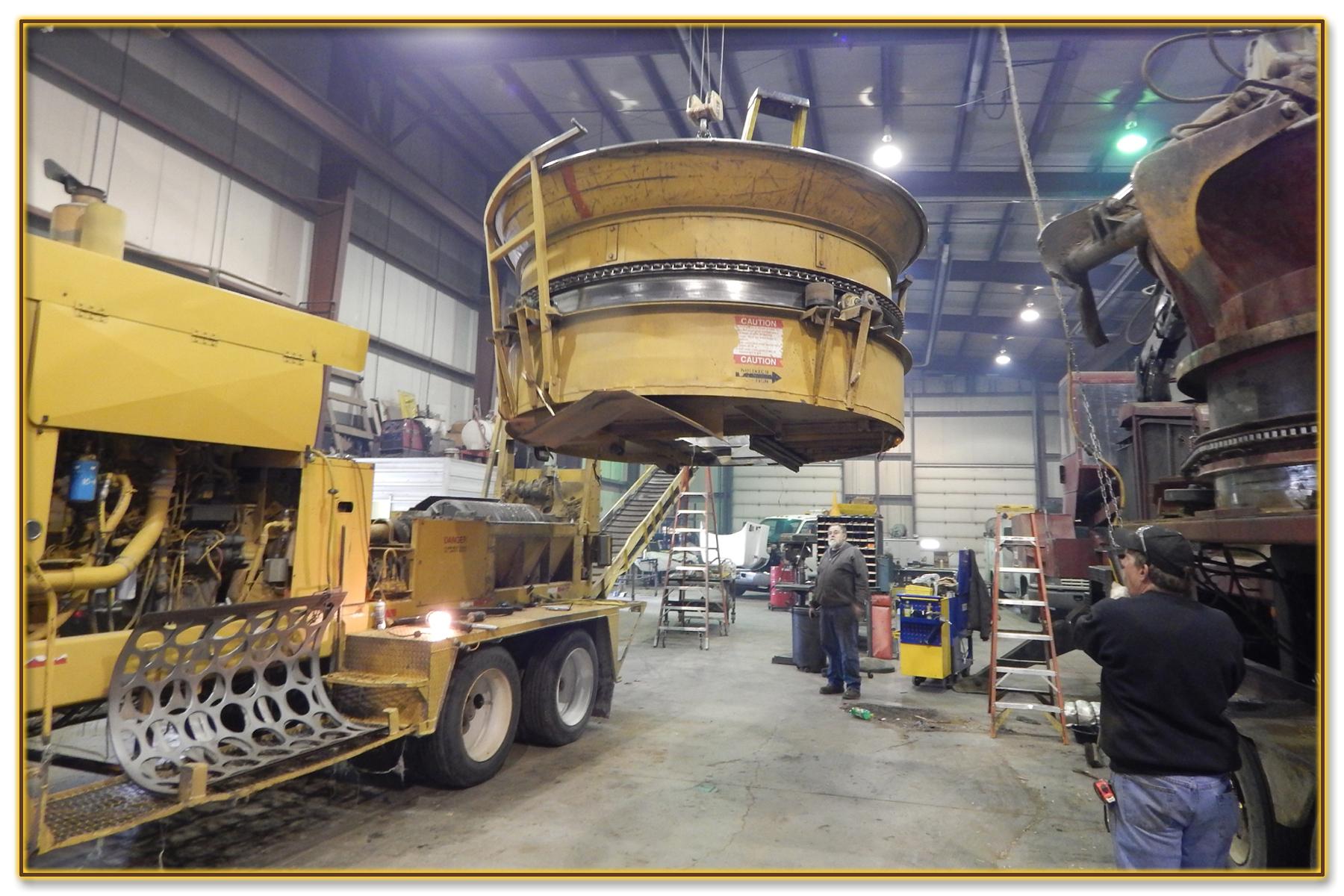 17 DynaHog® Grinder Repair Service