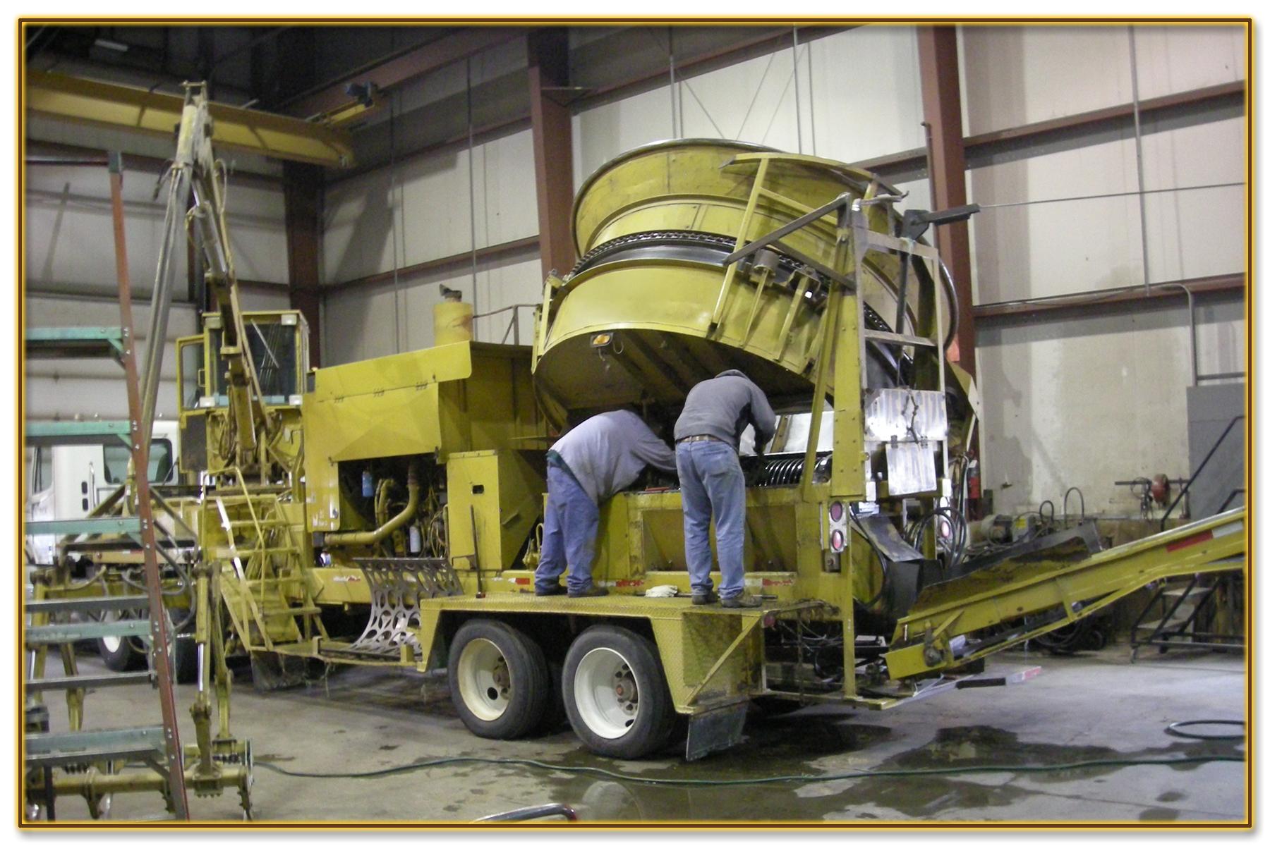 2 DynaHog® Grinder Repair Service
